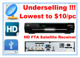 Full HD FTA Receiver with The Cheapest Price 10 Dollars