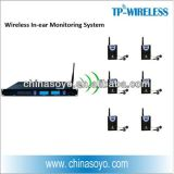 2.4G Multi-Channel Wireless Ear Monitoring System for Stage