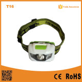 Multi-Color ABS Material 1W + 2 Red SMD LED Headlamp