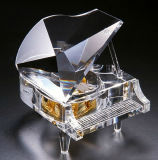 High Quality and Beautiful Transparent Crystal Piano