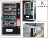 Popular Cold Drinks and Snack Vending Machine LV-205L-610