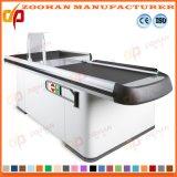 Metallic Supermarket Shop Store Cashier Checkstand Table Checkout Counter (Zhc30)