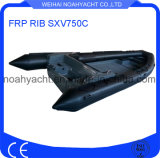 Fiberglass Hull Inflatable Boat Sxv750c (CE)