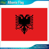 Cheap 75D Polyester Albania National Flag (T-NF05F09323)