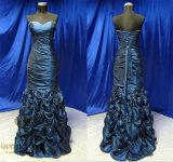 Delicata Taffeta Mermaid Prom Dresses Evening Dress