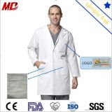 High Quality Hospital White Doctor Gown Uniform