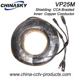 Pre-Made Power and Video CCTV Wire (VP25M)