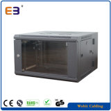 19 Inch Double Section Wall Mounted Network Cabinet for Network Solution