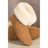 Warm Winter Indoor Sheepskin Women Shoe Boot