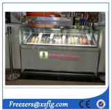 Popsicles Showcase Ice Cream Display Cabinet Freezer