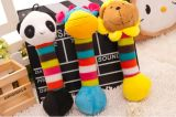 Animal Pattern Plush &Stuffed Squeaky Pet Toy for Dog