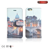 PU Leather Flip Book Wallet Phone 7 Case Cover