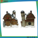 Snow House Artwork Bluetooth Speaker with Night Light (GEIA-041)