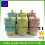 2017 New Material Wheat Fiber Biodegradable Cup Coffee Cups