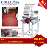 360*510 mm Embroidery Area Device on 15 Colors Single Head Embroidery Machine