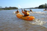 No Inflatable and Polyethylene Hull Material Single Sit on Top Kayak