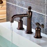 3 Piece Set Faucet Oil Rubbed Bronze Sink Faucet