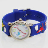3D Cartoon Silicone Watch for Kid Child