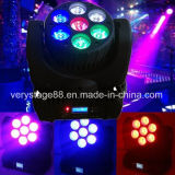 7* 12W RGBW 4in1 LED Beam Moving Head Light