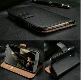 Phone Case Wallet Flip Leather Case Cartoon Flower Card Slot