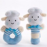 Baby Rattle and Sqeaker Plush Toy