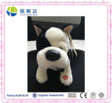 Musical Shaking Plush Stuffed Bulldog Toy