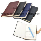 A5 Size Leather Custom Composition Notebook Diary