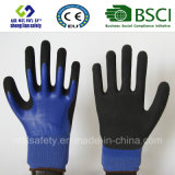 Latex Frosted Gloves, Sandy Finish Safety Work Gloves (SL-RS306)