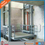 Chinese Manufacturer Supply Hydraulic Guild Rail Goods Lift for Warehouse