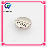 Plain Engraved Metal Clutch Button Rivet with Logo