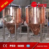 DIY Mini Home Beer Brewing Machine, Produce Brewing Brewery Red Copper and SUS 304 Fermentation Tanks
