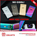 Top Quality Electronic Double Arc Metal USB Charged Lighter