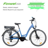 700c Classical Central Motor Step-Through Frame Electric Bike