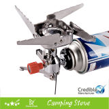 Portable Folding Camping Stove Outdoor Gasoline Stove Gas Burners Camping Equipment