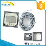 Remote Meter for Dual-Battery Solar Regulator with LCD Displays Mt1