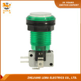 IP40 Protection Level Green LED Push Button Switch Pbs-003