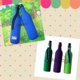 Custom Insulated Neoprene Wine Bottle Cooler, Beer Bottle Holder (BC0065)