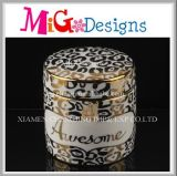 Hot Selling Modern Home Ceramic Decorative Jewelry Box