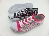 Newest Women Floral Pattern Cloth Shoes Canvas Shoes (HH150512 (12)
