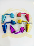 Wholesale 10/14/18mm Adjustable up and Down New Design Titanium Nail for Glass Water Pipe