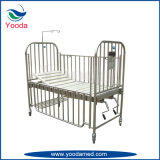 Stainless Steel High Rail 2 Crank Children Bed