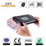 RFID Hf Reader Tablet PC with Barcode Reader with Large Fingerprint