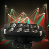 Double Head Moving Head LED Spider Beam Light