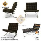 Dark Brown Genuine Leather Office Chair (GV-BC01)