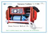 Emergency Medical Portable Ventilator with Oxygen Cylinder
