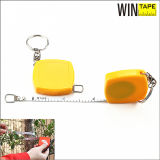 79inch Custom Mini Diameter Steel Tape Measure with Key Chain