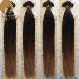 Ombre Color Keratin Virgin Human Hair Extension
