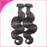 Natural Black Body Wave Virgin Brazilian Hair Weft