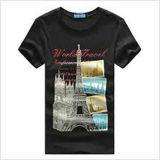 Custom Cotton Printed T-Shirt for Men (M346)