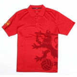 Fashion Cotton/Polyester Printed Golf Polo Shirt (P025)